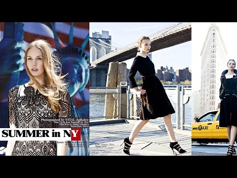 New York City Fashion Editorial photoshoot for Magazine by VITAL AGIBALOW for HENSEL
