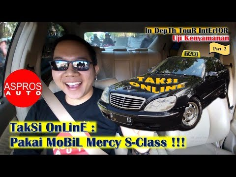 TAKSI ONLINE PAKAI MOBIL MERCY!!! Ft. MERCEDES BENZ S280 W220 Tahun 2002 Mp3