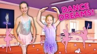 Addy and Maya Be¢ome BALLERINAS in the SECRET PLAYROOM !!