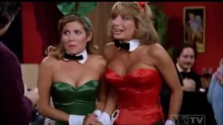 Carrie Fisher on Laverne & Shirley as a Playboy Bunny |HD