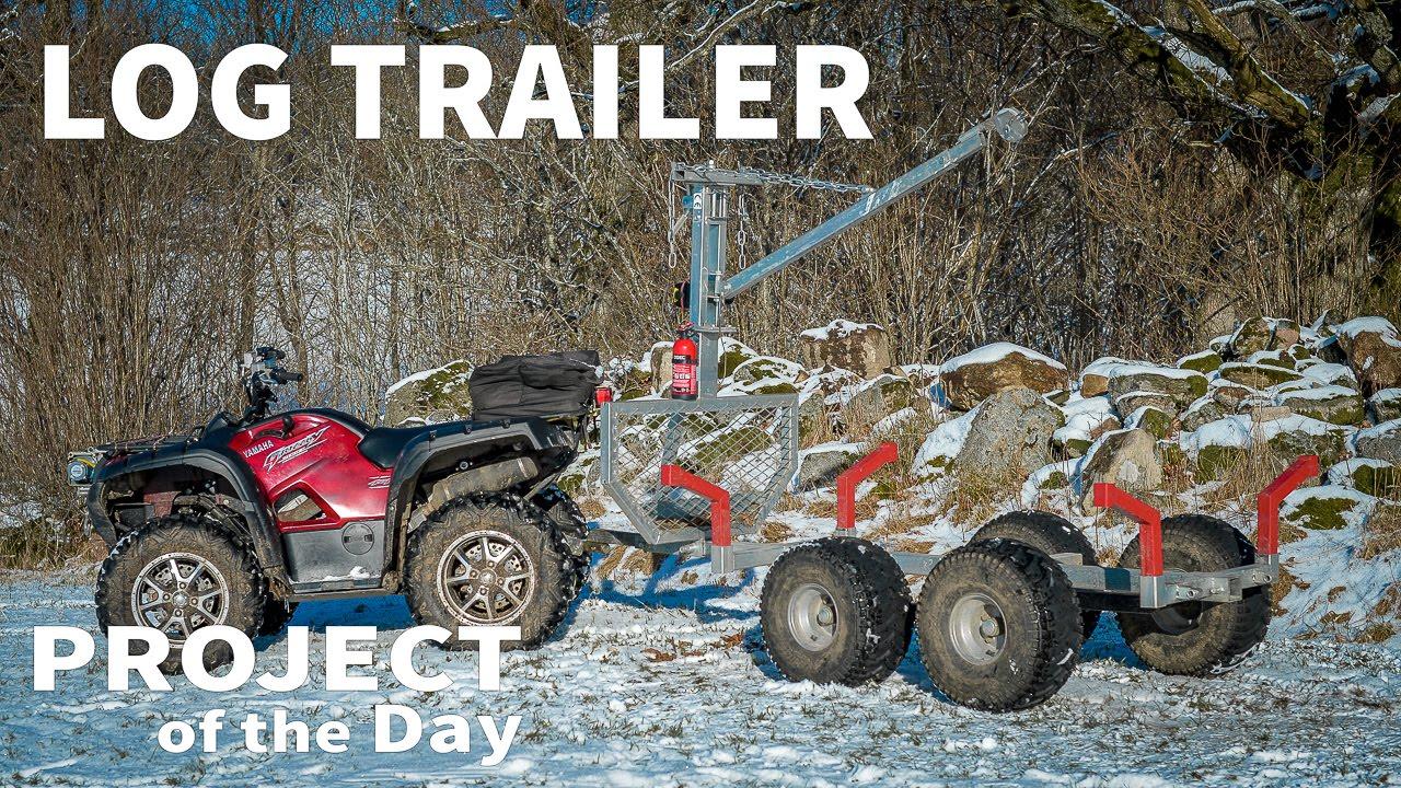 Log Trailer For Atv Doovi