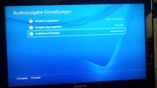 Playstation 4 headset einstellen