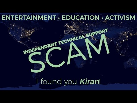 "TECH SUPPORT SCAM INVESTIGATION: ""INDEPENDENT TECHNICAL SUPPORT"""