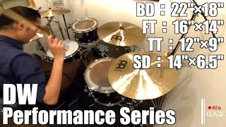 【Ikebe channel】dw Performance Series【#DS渋谷試奏動画】