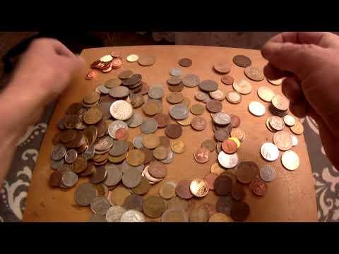 1 кг. Монеты разных стран.