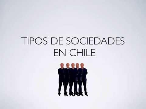 Sociedades en Chile EIRL SPA Sociedad Anónima y SRL