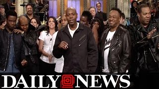 Dave Chappelle Regrets Telling People To 'Give Trump A Chance'