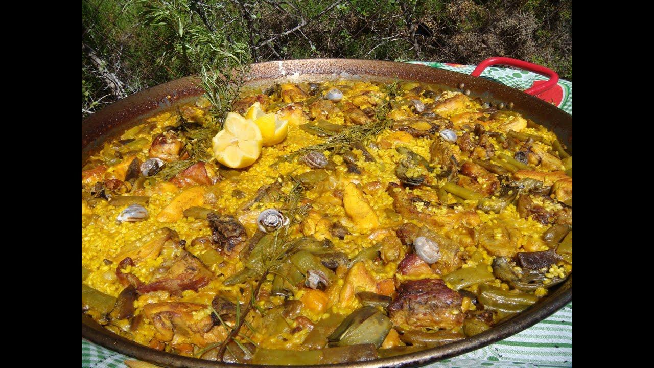 Recetas De Cocina Española Paella Valenciana | Paella Valenciana La Autentica 78 Youtube