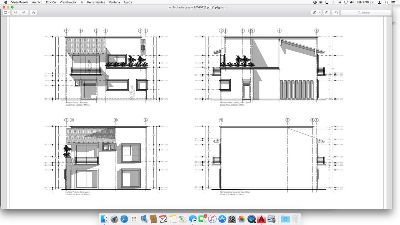 04 c mo hacer sombras para fachadas en autocad para mac - Como hacer planos de casa ...