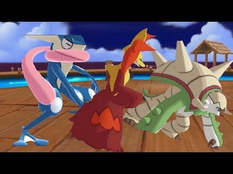 [VGC 2018] Symbiosis + Weakness Policy & Water Pledge Greninja! Pokemon USUM Wi-Fi Battle #59