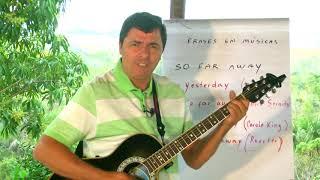 Inglês com música / Frases mais comuns  - So far away