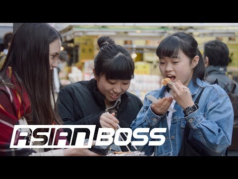 The Japanese React To American Style Sushi | ASIAN BOSS