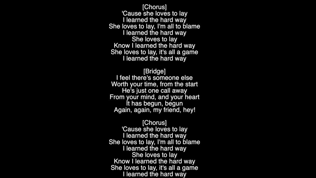 Full Lyrics) Love To Lay The Weeknd Album Starboy - YouTube