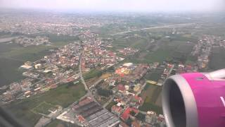 Wizzair landing Naples NAP  full HD