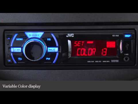 how to connect bluetooth to jvc kd x40