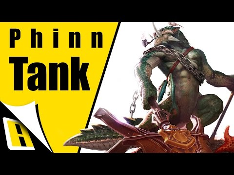 Vainglory Phinn Gameplay - Ep 35 - Tank Build | Roam | 1.9