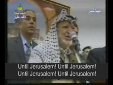 Yasser Arafat : Palestine and Israel conflit