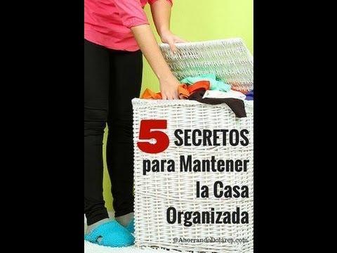 LOS SECRETOS DEL ORDEN, LA LIMPIEZA EN TU CASA
