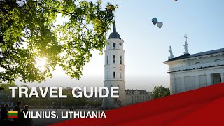 Travel guide for Vilnius, Lithuania