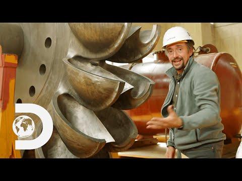 How the Turbines in the Kölnbrein Dam are 92% Efficient | Richard Hammond's Big