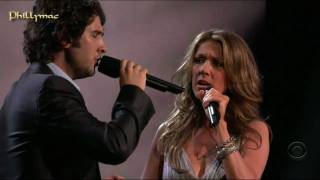 Download Video Celine Dion & Josh Groban Live