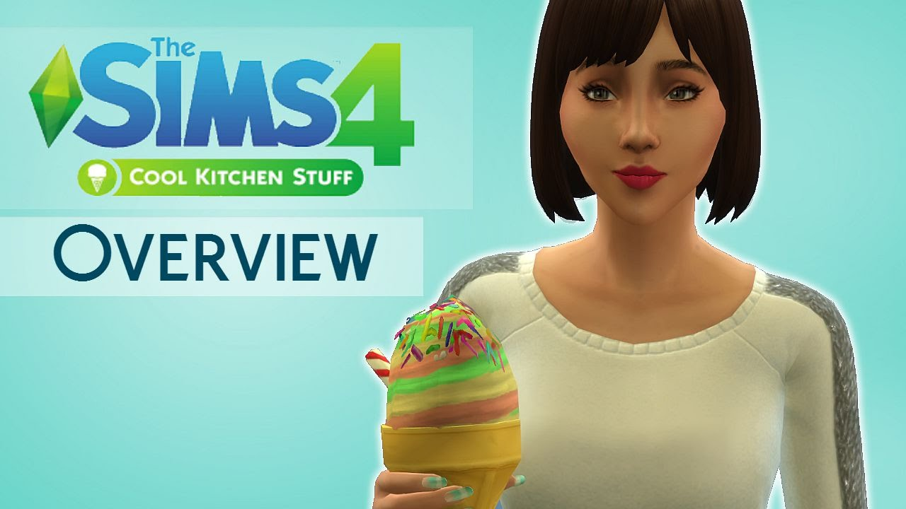 The Sims 4: Cool Kitchen Stuff Pack | Overview | - YouTube