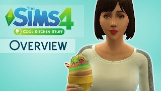 The Sims 4: Cool Kitchen Stuff Pack | Overview |