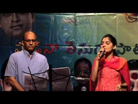 Nagesh, Naga Sahithi sing 'Jeevitham Sapta Sagara Geetham..' from Chinni Krishnudu