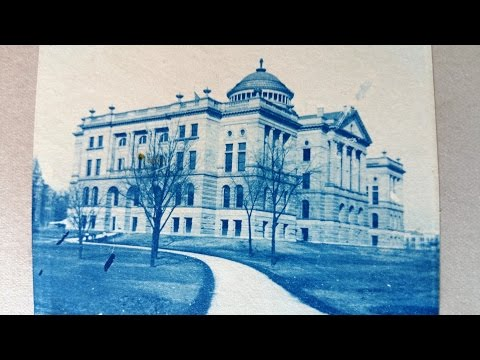 Historical Toledo, Ohio..... Cyanotype Photo Albums. Circa 1900