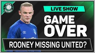 Wayne ROONEY Regrets MANCHESTER UNITED EXIT Football News Latest