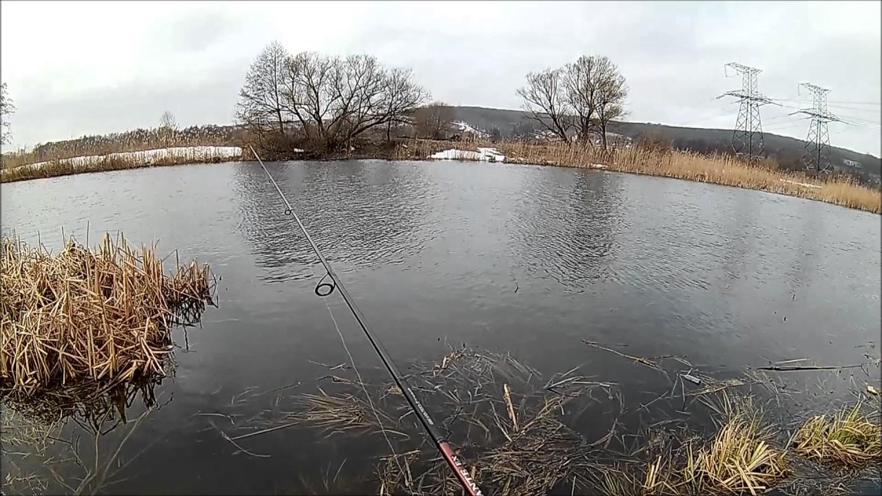 ловля весной на речках