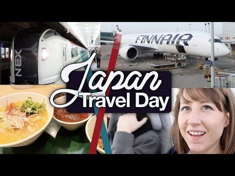 Japan Travel Day! Flight, Bullet Train to Kanazawa and Hotel! Japan April 2018