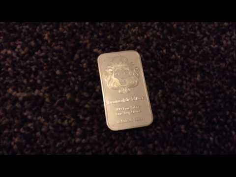 1oz Scottsdale Silver Bullion Bar