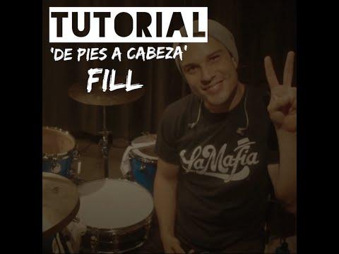 TUTORIAL: 'De Pies A Cabeza' Redoble/FILL
