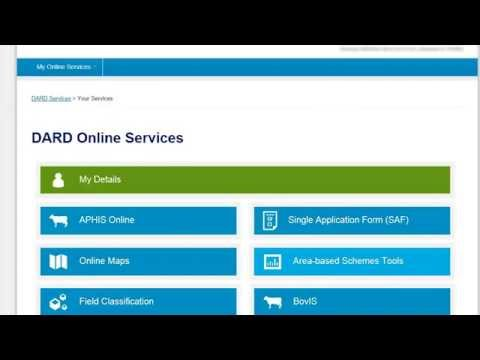 How to register to use DARD Online Services