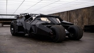 Batmobiles Gather For 'The Dark Knight Rises' Bonus Feature