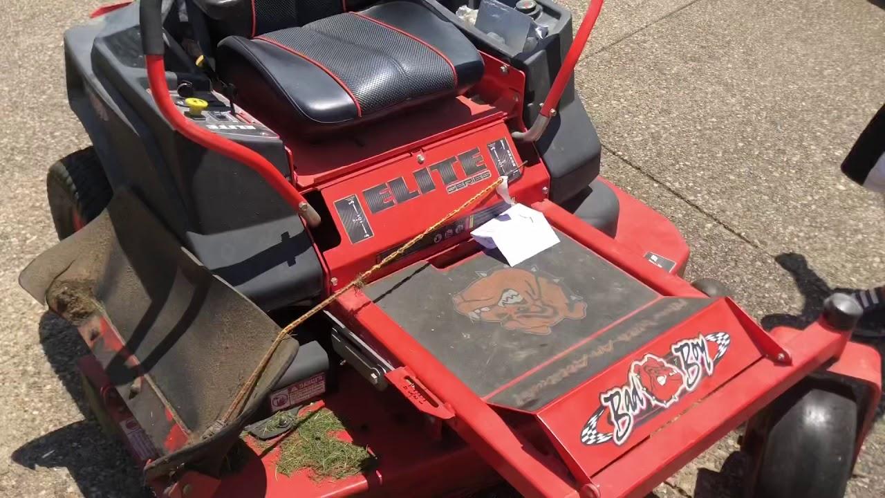 Bad boy elite ZT Lawn mower Review