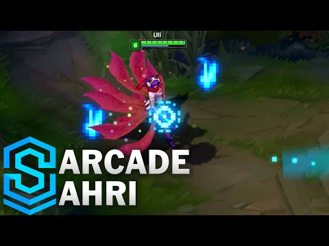 Arcade Ahri Skin Spotlight - League of Legends