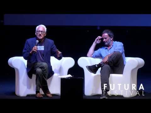 """Matteo Nucci - """"È giusto obbedire alla notte"""" con Filippo La Porta - FUTURA FESTIVAL 2017"""