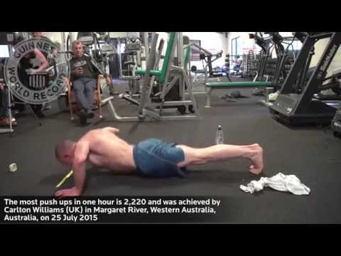 Most push ups in an hour - Guinness World Records