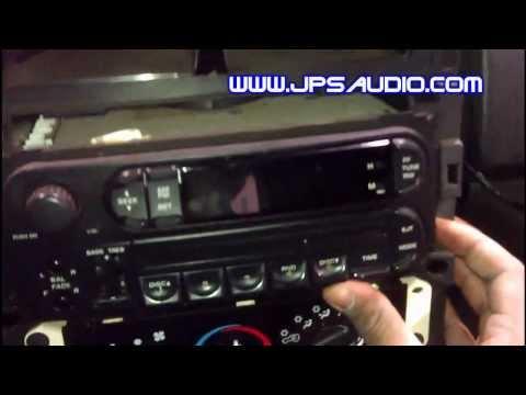 Jeep Wrangler Dash Removal