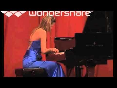 Almira Emiri playing Franz Liszt Totentanz ( pt 1)