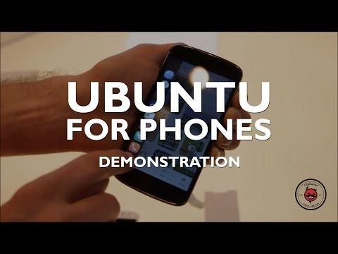 MWC 2014: Ubuntu Phone OS Demo