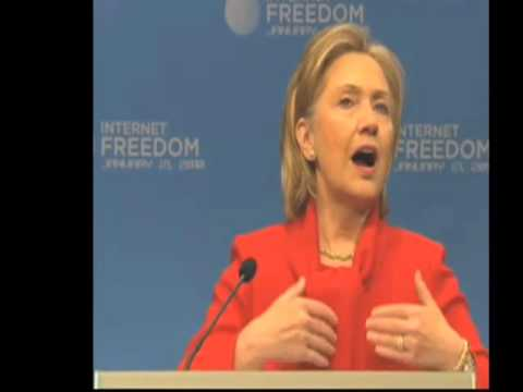 Hillary Clinton Speaks on Internet Freedom