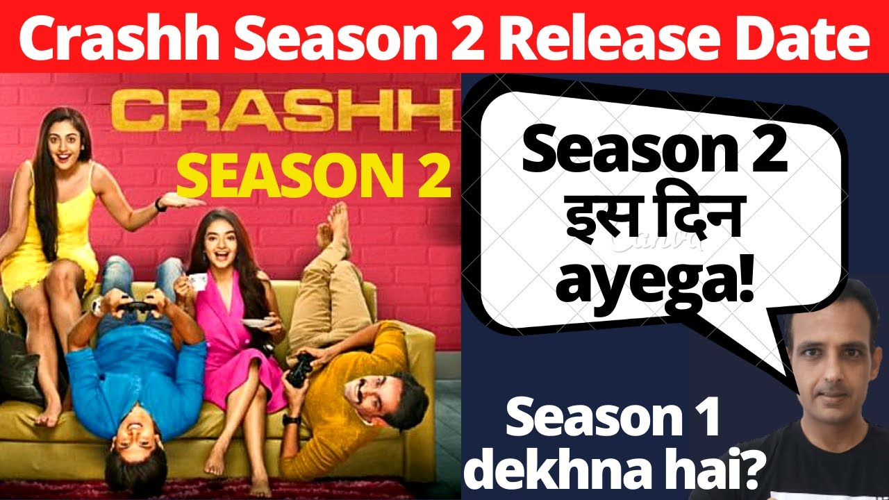 Download Crash season 2 I Release Date I Crashh season 2 altbalaji release date I Crashh web series season 2