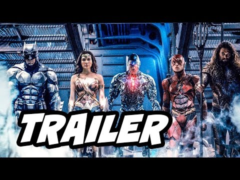 Justice League Teaser Trailer and The Flash Doomsday Clock Explained