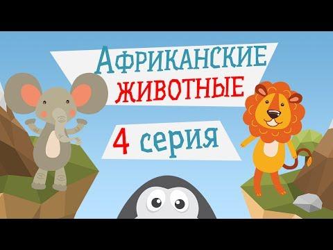Пингвин Топ-Топ - АФРИКАНСКИЕ ДЖУНГЛИ, 4 серия - Детский развивающий мультик