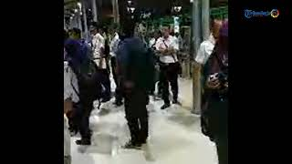 Inspeksi Dirut KAI Edi Sukmoro di Stasiun Tugu