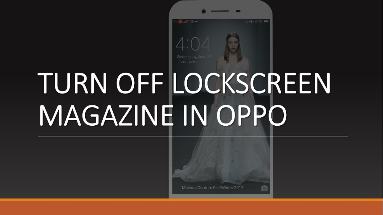 How to Turn on/off Auto Change Wallpaper in OPPO