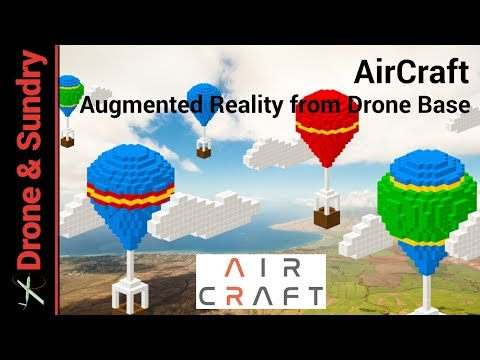 DroneBase AirCraft Augmented Reality App